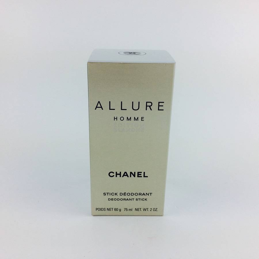 5bae6393ba Details about Chanel Allure Homme Edition Blanche Deodorant Stick 75ml BNIB